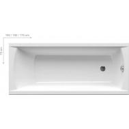 Ванна RAVAK CLASSIC 160 X 70 N C531000000
