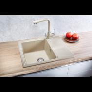Кухонная мойка MINOLA MPG 1140-62 ПЕСОК
