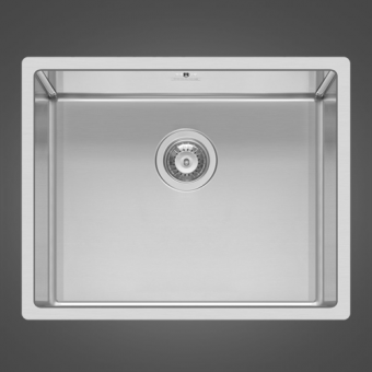 Кухонная мойка ELLECI SQUARE 500 R14 UNDER TOP