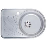 Кухонная мойка ULA 7111 ZS SATIN RIGHT