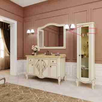 Зеркало MARSAN MELISSA 1250