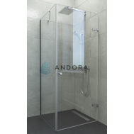 Душевая кабина ANDORA BREEZE P CLEAR (80X100)