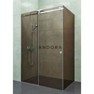 Душевая кабина ANDORA DREAM P BRONZE (130Х80)