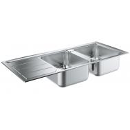 Кухонная мойка GROHE SINK K500 31588SD0 ДВОЙНАЯ