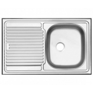Кухонная мойка UKINOX STM 800 500 6C R МАТОВАЯ