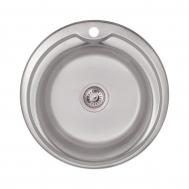 Кухонная мойка LIDZ 510-D (0.6ММ) SATIN (LIDZ5 ...