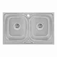 Кухонная мойка LIDZ 5080 DECOR 0,8 ММ LIDZ5080 ...
