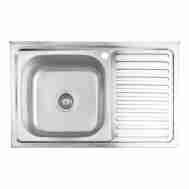 Кухонная мойка LIDZ 5080-L DECOR 0,8 ММ LIDZ50 ...