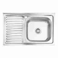 Кухонная мойка LIDZ 5080-R DECOR 0,8 ММ LIDZ50 ...