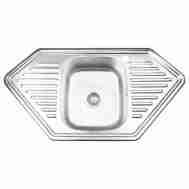 Кухонная мойка LIDZ 9550-D DECOR 0,8 ММ LIDZ95 ...