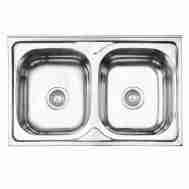 Кухонная мойка LIDZ 5080 POLISH 0,8 ММ LIDZ508 ...