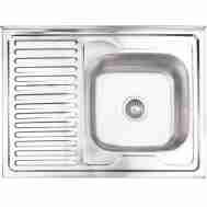 Кухонная мойка LIDZ 6080-R SATIN 0,8 ММ LIDZ60 ...