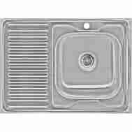 Кухонная мойка LIDZ 6080-R DECOR 0,6 ММ LIDZ60 ...