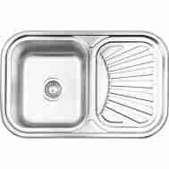 Кухонная мойка LIDZ 7549 MICRO DECOR 0,8 ММ LI ...