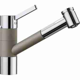 Смеситель для кухни BLANCO TIVO S 517619 хром/серый беж