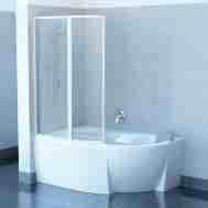 Штора на ванну RAVAK VSK2 ROSA - 140 L RAIN 76L7010041
