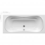 Ванна RAVAK CAMPANULA II 180X80 CB21000000