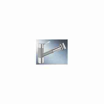 Смеситель для кухни BLANCO TIVO S 517611 хром/алюметаллик